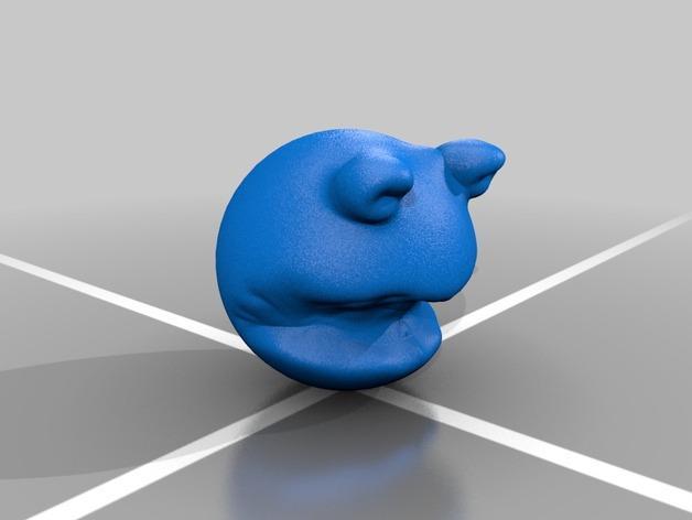 青蛙造型的玩具 3D模型  图2