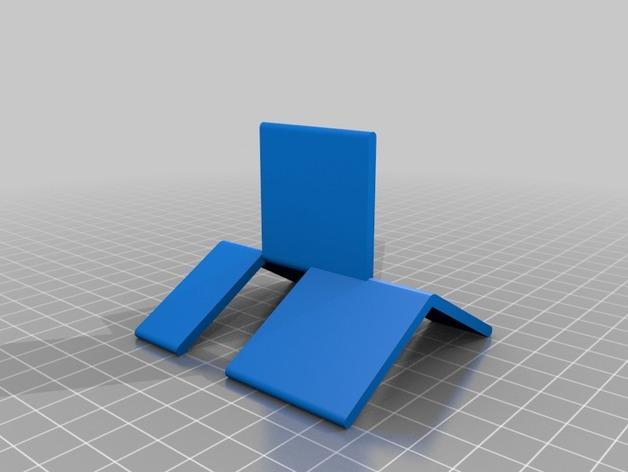 可折叠简易模型 3D模型  图1