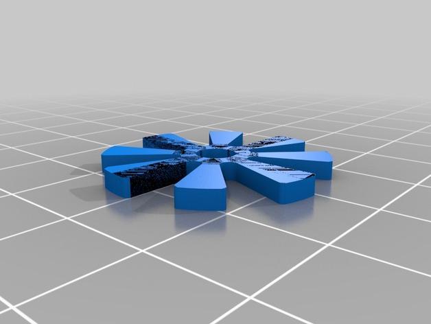 橙色口哨模型 3D模型  图3
