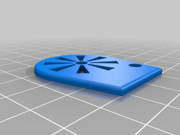 橙色口哨模型 3D模型  图2