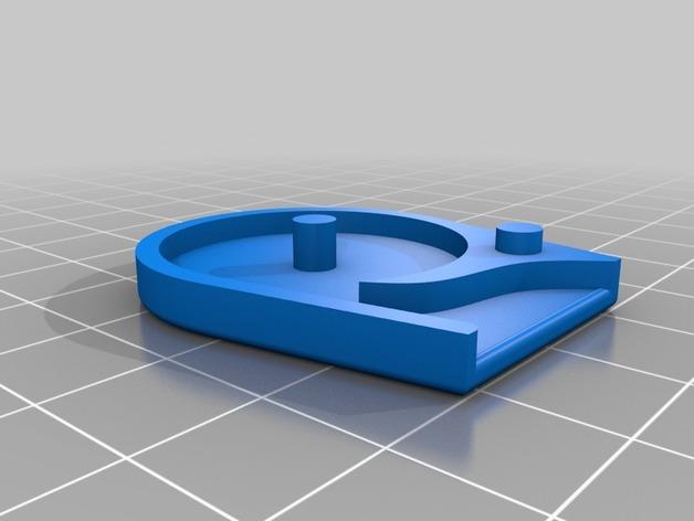 橙色口哨模型 3D模型  图4