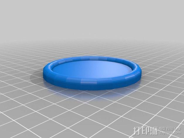 桌面冰球模型 3D模型  图1