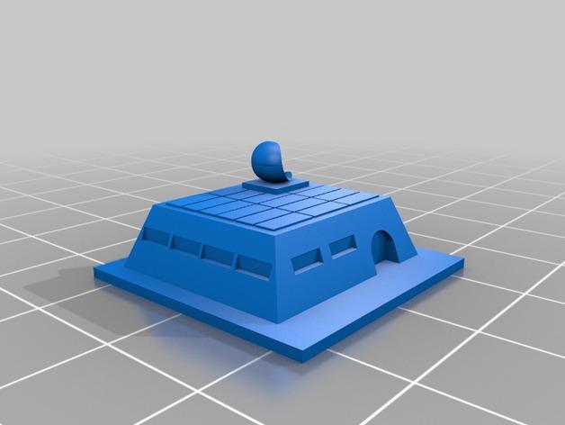 游戏《沙丘魔堡2》中建筑模型 3D模型  图4