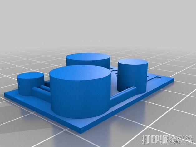 游戏《沙丘魔堡2》中建筑模型 3D模型  图2
