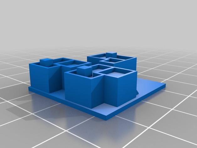 游戏《沙丘魔堡2》中建筑模型 3D模型  图5