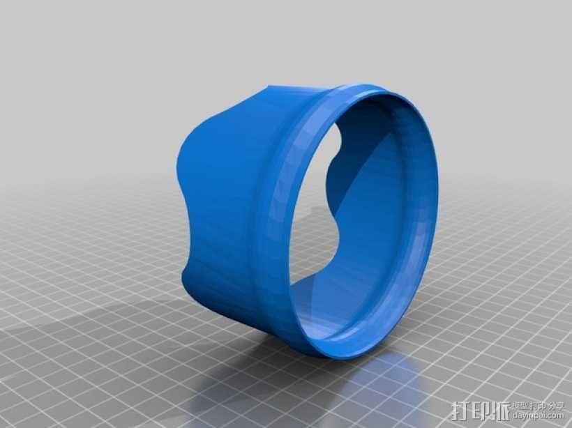 简易回转仪模型 3D模型  图1