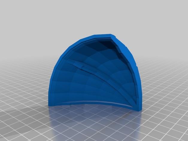 适合小型打印机的OmniSphere模型 3D模型  图1
