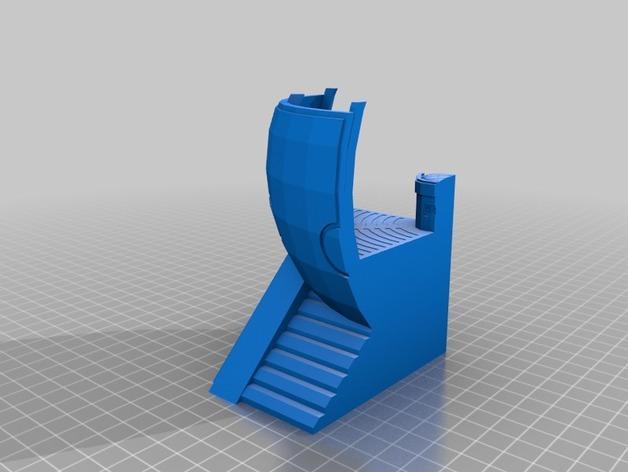 适合小型打印机的OmniSphere模型 3D模型  图6
