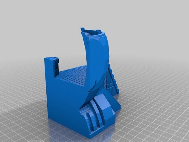 适合小型打印机的OmniSphere模型 3D模型  图8