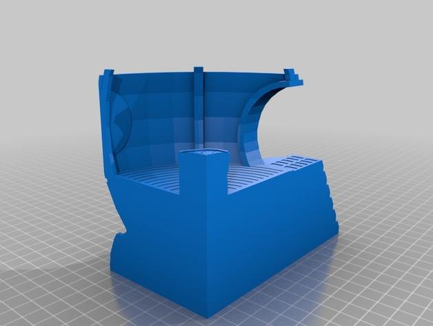 适合小型打印机的OmniSphere模型 3D模型  图7