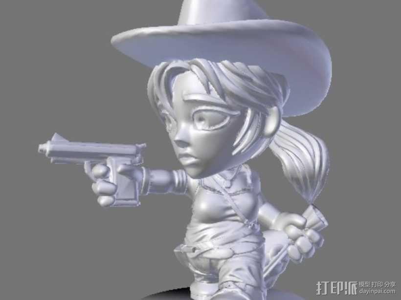 游戏《卡坦岛》中人物模型 3D模型  图1