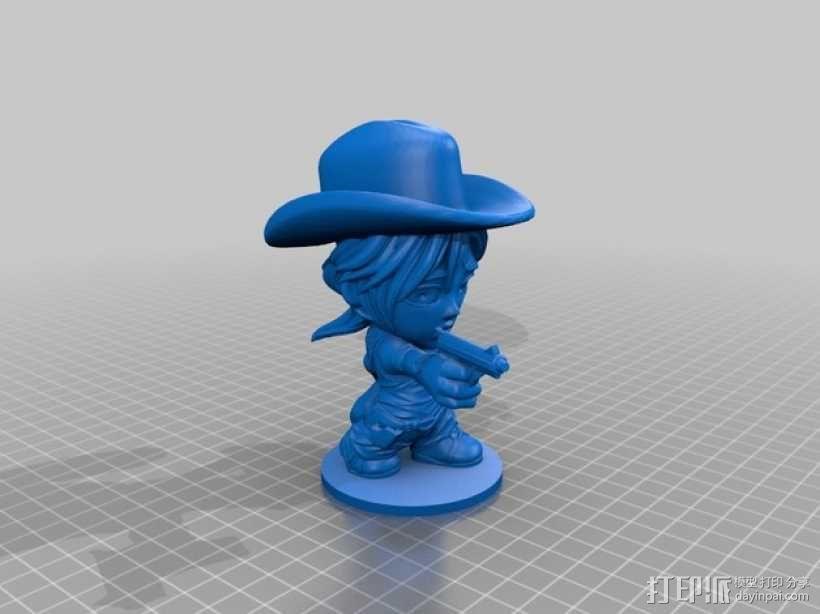 游戏《卡坦岛》中人物模型 3D模型  图2