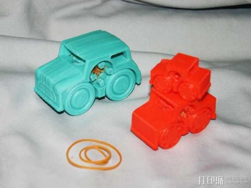 小汽车模型 3D模型  图1