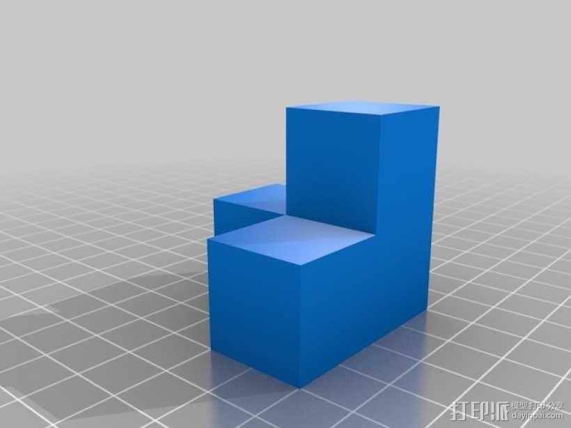 积木模型 3D模型  图3