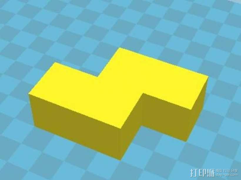 积木模型 3D模型  图9