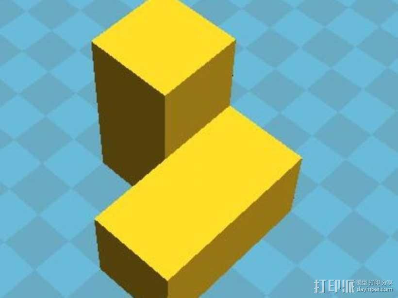积木模型 3D模型  图10