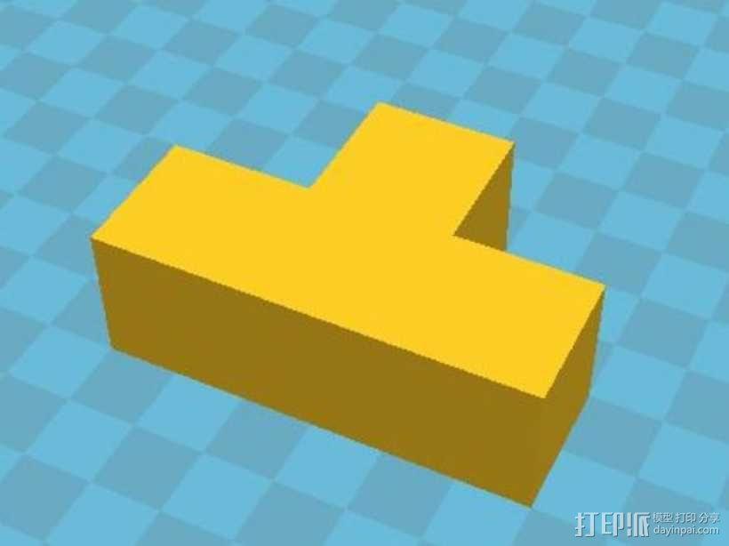 积木模型 3D模型  图12