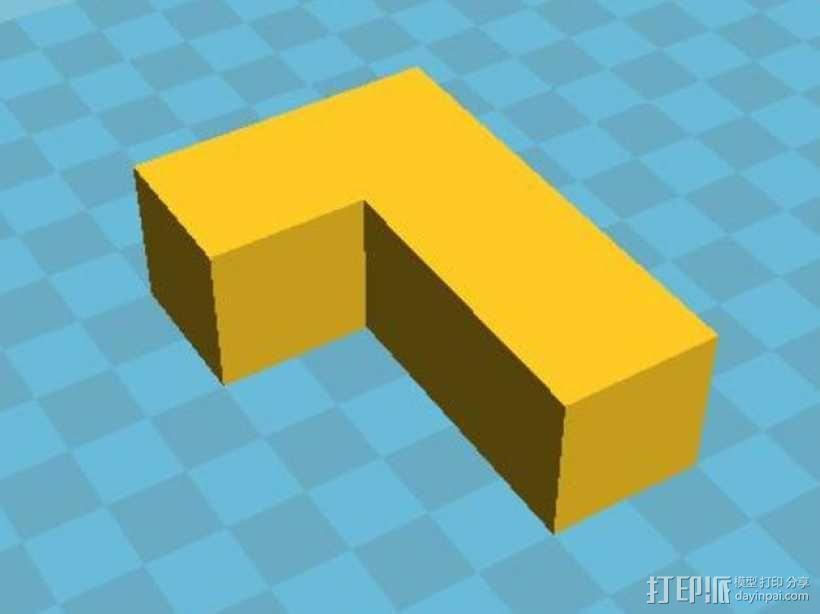 积木模型 3D模型  图11