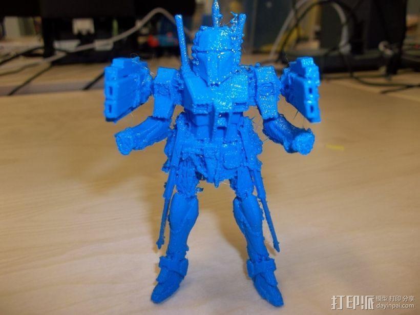 游戏《jetbot》中机器人模型 3D模型  图1