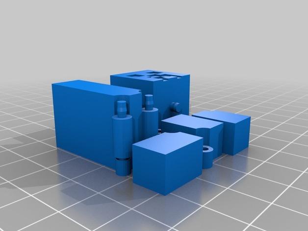 游戏《Minecraft》中爬行者模型 3D模型  图3