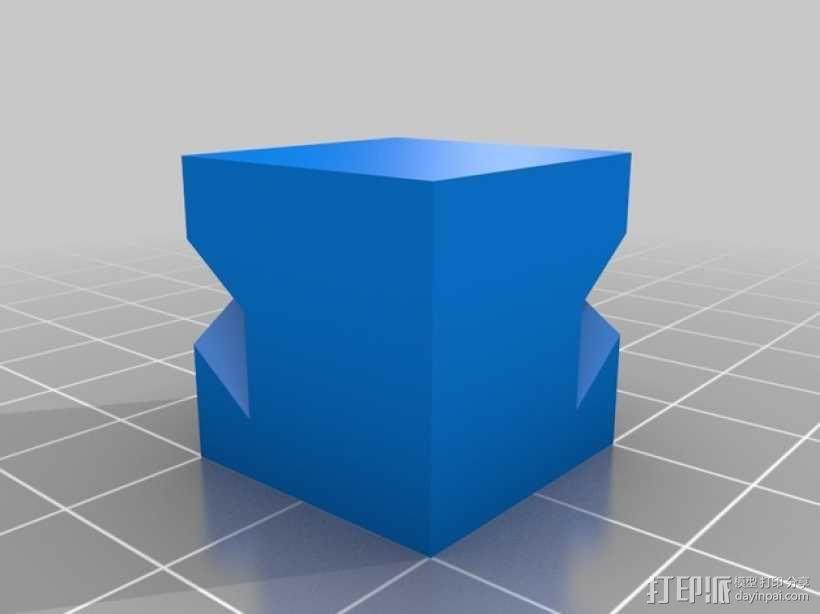 游戏《Minecraf》中的末影人模型 3D模型  图3