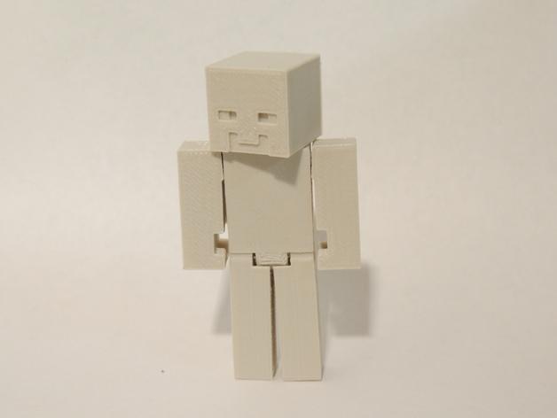 游戏《Steve vs.Zombie》中的人物造型 3D模型  图1