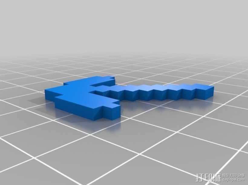 游戏《Minecraft》中使用的一系列道具模型 3D模型  图7