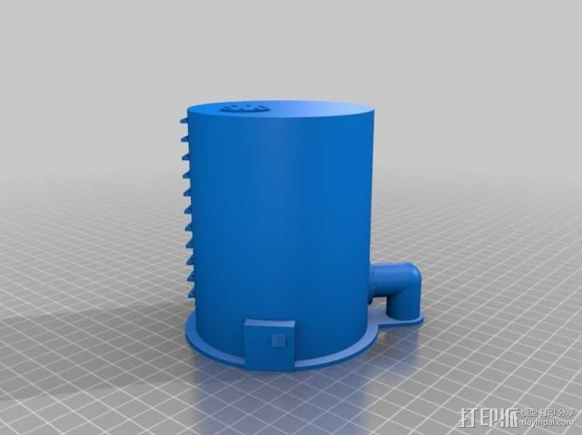 平底游戏收纳盒 3D模型  图1
