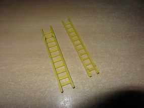 参照乐高积木玩具的消防车梯 3D模型