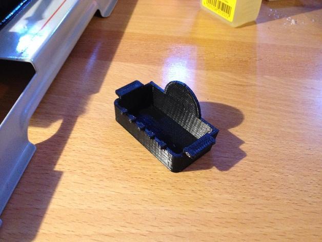 蒸汽机接水盘模型 3D模型  图1