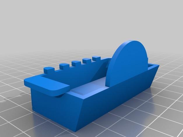 蒸汽机接水盘模型 3D模型  图2