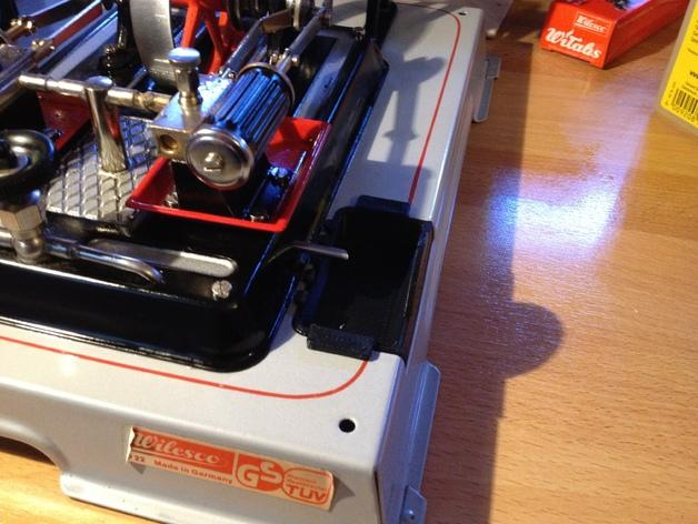 蒸汽机接水盘模型 3D模型  图3