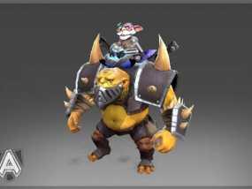 游戏《Dota 2》中的炼金术师模型 3D模型