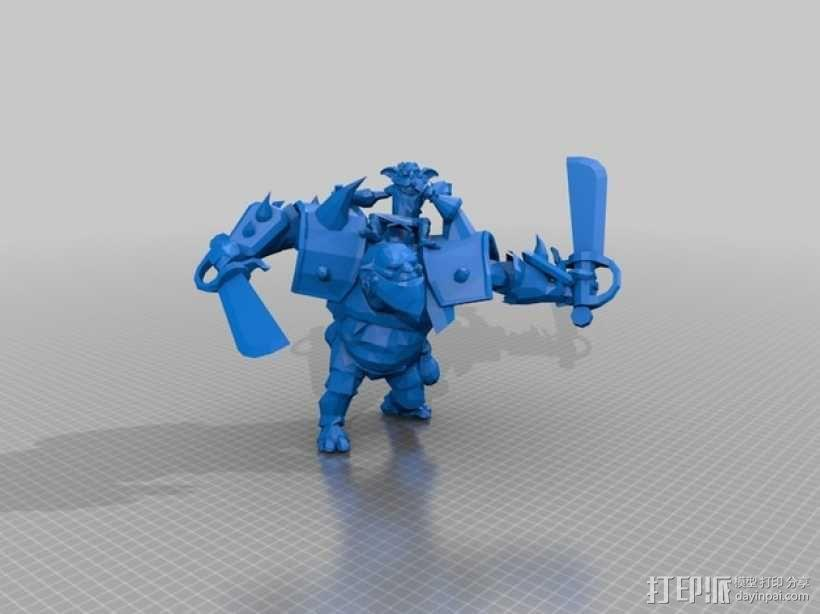 游戏《Dota 2》中的炼金术师模型 3D模型  图2