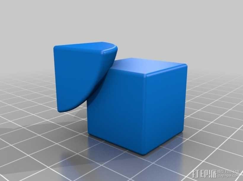 魔方模型 3D模型  图2