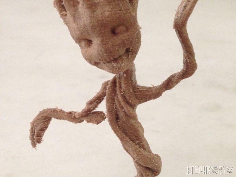 树精格鲁特跳舞模型 3D模型  图1
