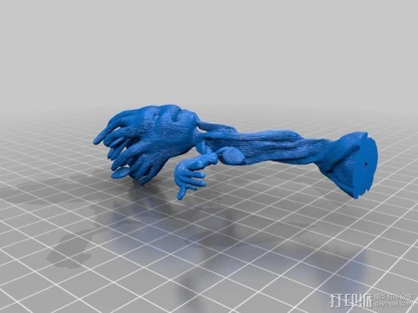 树精格鲁特跳舞模型 3D模型  图2