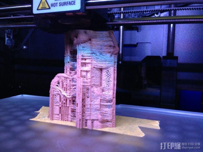 树精格鲁特跳舞模型 3D模型  图3