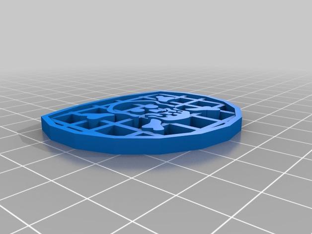 海盗眼罩模型 3D模型  图2