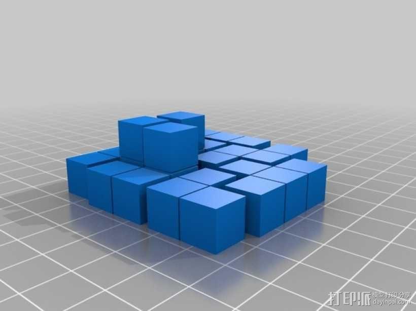简易soma游戏模型 3D模型  图1