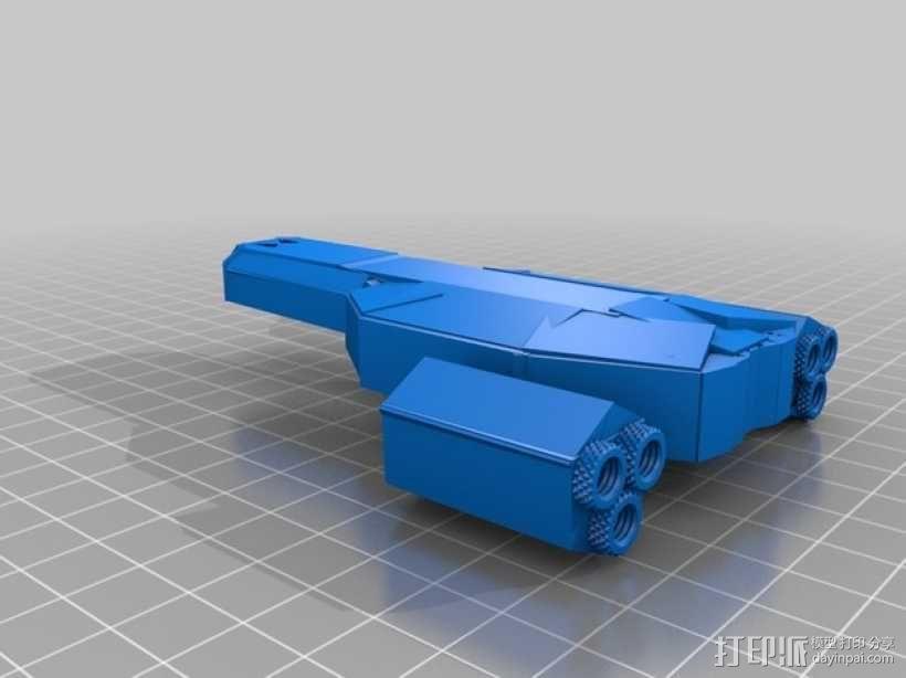 游戏FTL使用的太空飞船 3D模型  图1