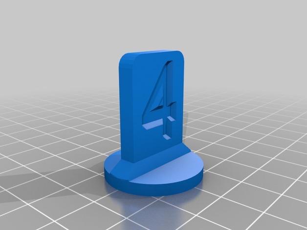 可定制化的棋子模型 3D模型  图5
