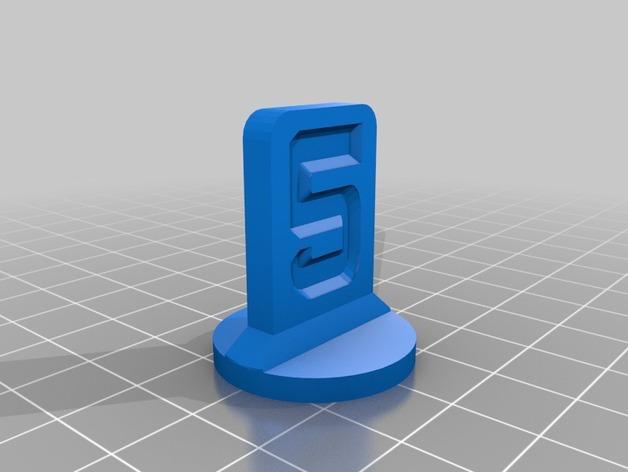 可定制化的棋子模型 3D模型  图6
