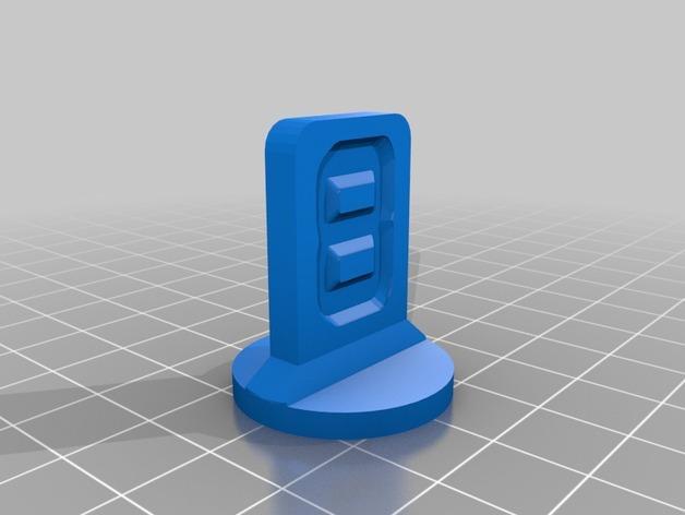 可定制化的棋子模型 3D模型  图9