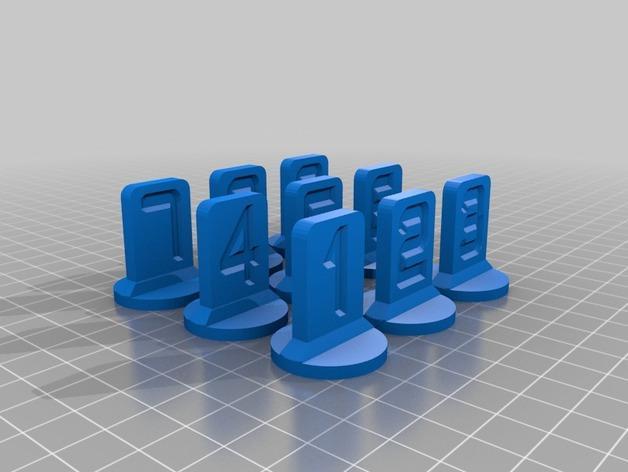可定制化的棋子模型 3D模型  图11
