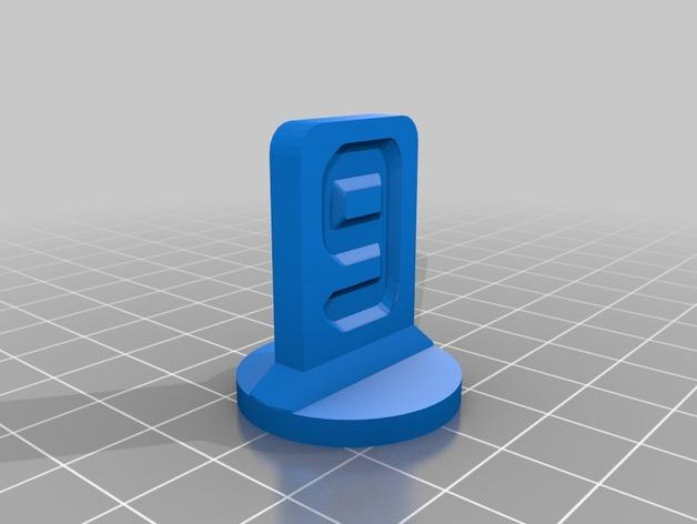 可定制化的棋子模型 3D模型  图10