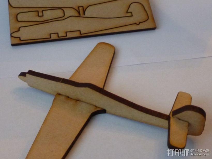 FW190D 沃尔夫战斗机模型 3D模型  图1