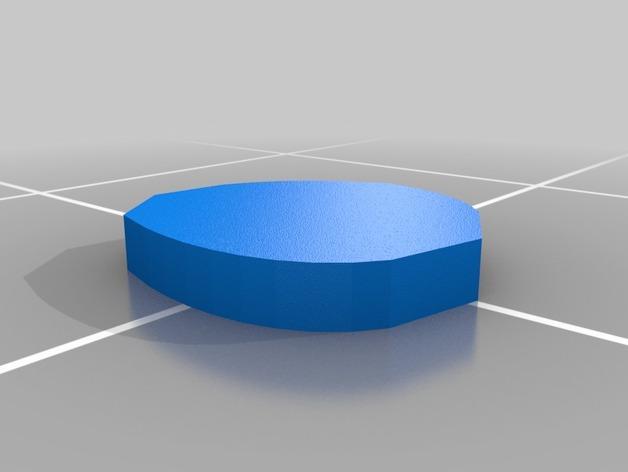 乌基布基头像的骰子 3D模型  图2