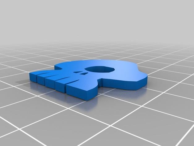 乌基布基头像的骰子 3D模型  图3