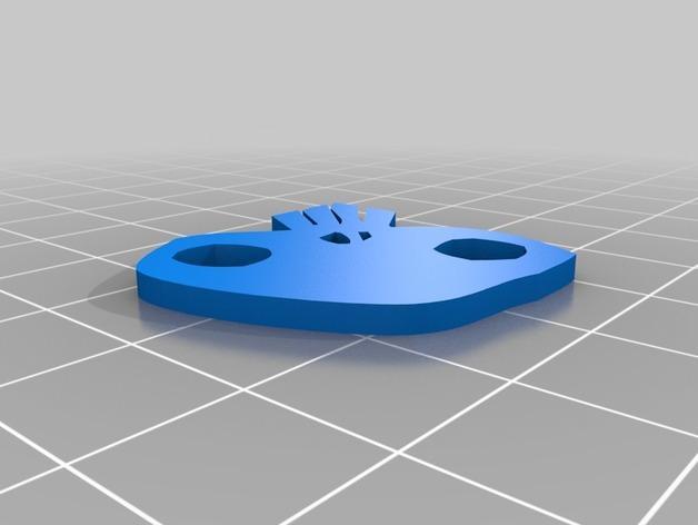 乌基布基头像的骰子 3D模型  图5